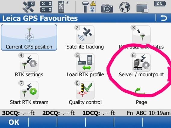 smartnet-server-mount-menu